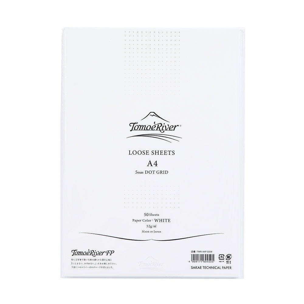 TP Artist-Grade Letter Writing Pad, A4P DOT GRID White