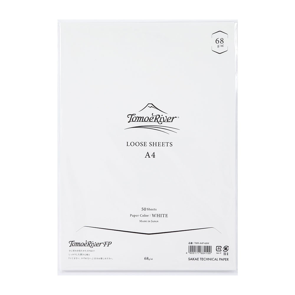 TR LOOSE SHEETS A4P  WHITE