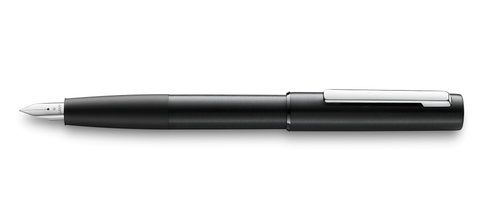 Lamy  Aion Fountain Pen,  Black -  Fine nib