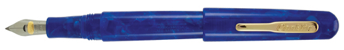all american fountain pen, lapis blue, fine nib